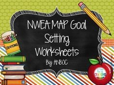 Printables Nwea Goal Setting Worksheet carnets de and feuilles dexercices on pinterest nwea map goal setting worksheets editable