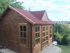 Zrubový záhradný domček Brusel od WoodSK Gazebo, Outdoor Structures, Kiosk, Pavilion, Cabana