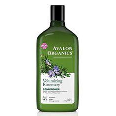 Volumizing Shampoo Rosemary 11 Oz By Avalon Organics Organic Hair Care, Organic Shampoo, Natural Shampoo, Shampooing Bio, Drugstore Shampoo, Drugstore Beauty, Avalon Organics, Nourishing Shampoo, Hair And Beauty