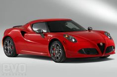 Alfa 4C We have to love Alfa, it's the law.