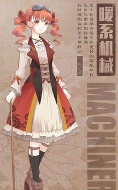 Miracle Nikki Character Concept, Concept Art, Character Design, Girls Manga, Kleidung Design, Anime Girl Pink, M Anime, Anime Dress, Cocoppa Play