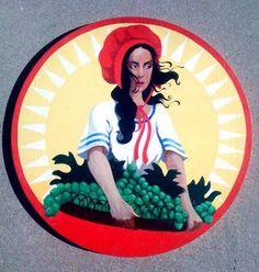 Sun-Maid Raisins girl