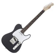 Squier by Fender Affinity Series Telecaster, RF, Gun Metal Gray at…