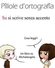 Su non vuole mai l'accento #italianlanguage #italianlesson #linguaitaliana