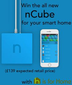 Win the all new nCube smart home hub (£139 expected retail price). Enter here: http://4ho.me/nCube-win #competition #giveaway