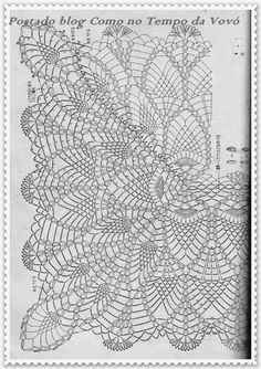 Ondori crochet lace № 02 Filet Crochet Charts, Crochet Diagram, Crochet Motif, Crochet Lace, Crochet Flower Patterns, Crochet Designs, Crochet Flowers, Thread Crochet, Love Crochet