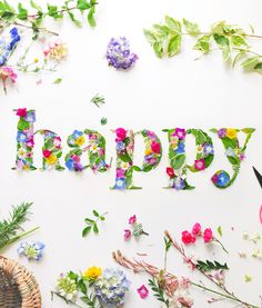 Thanks, Sorry & Cie Flower Words, Flower Quotes, Flower Power, Month Flowers, Pressed Flower Art, Joy And Happiness, Flower Crafts, Diy Art, Decir No