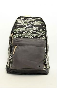 227593914b Tiger Camo Backpack by Stussy at MOOSE Limited Camo Bag