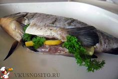 fish baked in the oven