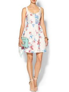 French Connection Fast Genevieve Dress | Piperlime #floral #dress #fashion