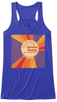 Sisterhood Shirt of the Month available until June 28th! Summer Runnin' Not Very Fast! #running #shrinkingjeans