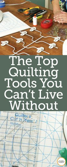 Whether you are new to quilting and wondering what quilting tools to buy, or you've been accumulating tools for years and are looking to scale back, Laura Roberts shows you which tools are her go-to favorites. Quilting Frames, Quilting Tools, Quilting Rulers, Quilting Tutorials, Hand Quilting, Machine Quilting, Quilting Projects, Quilting Designs, Sewing Projects