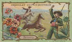 Vintage Victorian Trade card Chocolat Guerin-Boutron