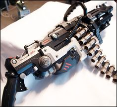 All NERF GUNS are custom painted and detailed with additional parts for added realism. Description from pinterest.com. I searched for this on bing.com/images