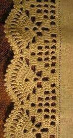 Crochet Applique Patterns Free, Crochet Lace Edging, Crochet Borders, Crochet Flowers, Crochet Shirt, Knit Crochet, Crochet Sunflower, Crochet Tablecloth, Crochet Designs