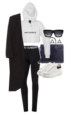 """Untitled #20911"" by florencia95 ❤ liked on Polyvore featuring Puma, Yves Saint Laurent, Alexander McQueen and CÉLINE"