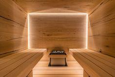 Saunieren auf Wolke 7 | Sauna und mehr ... GmbH Sauna Design, Sauna Room, Storage Places, Spa Treatments, Comfort Zone, Stairs, Saunas, Spa Rooms, Home Decor