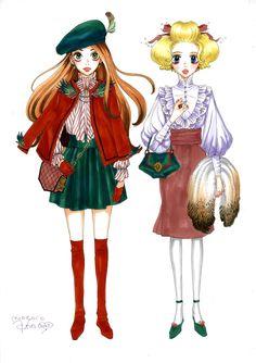 From the official site. Old Anime, Manga Anime, Manga Illustration, Beautiful Anime Girl, Illustrations And Posters, Manga Girl, Magical Girl, Kawaii Anime, Cute Art