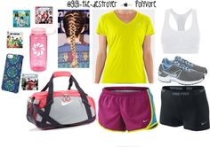 """""""Track Time!!!!"""" by gigi-the-destroyer ❤ liked on Polyvore"""