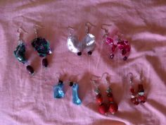 Earrings with recycled plastic bottles https://m.facebook.com/IfintigioiellidiVeraCarniello