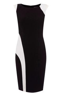 Simple but elegant    http://warehouse.andotherbrands.com/monochrome-panelled-dress-en-US?ctry=US