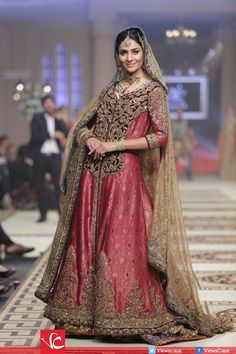 Power House of Fashion Collection at Telenor Bridal Couture Week 2014 #Bridal #Fashion #Ramp