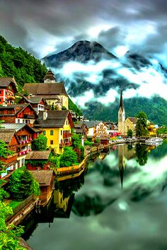 40 amazing travel destinations bucket list worldwide that will inspire your wanderlust. The best travel destinations affordable, favorite places and landmarks from 15 years of traveling all over the world Beautiful Places In The World, Beautiful Places To Visit, Wonderful Places, Cool Places To Visit, Amazing Places, Beautiful People, Ville France, Beaux Villages, Photos Voyages