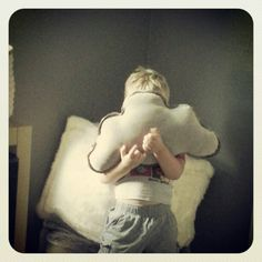 Cloud pillow from RH baby and child