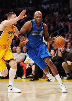 Lamar Odom done playing for Mavericks this season