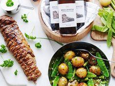 Sprout Recipes, Snack Recipes, Pork Fillet, Rhubarb Recipes, Grilled Pork, Filets, Vegetable Salad, Kraut, Antipasto