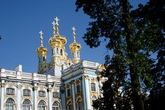 Palacio Catalina-San Petersburgo-Rusia