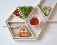 ein modulares Essgeschirr