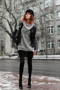 Moms sweater/warmth of love - Tina Sizonova