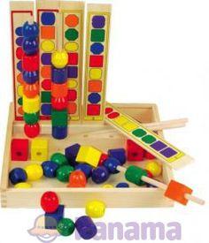 """Набор """"Изучаем цвета и формы"""" – Мир деревянных игрушек - 353грн"""