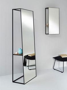 miroir design avec rangement