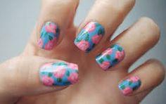Unique and Beautiful Nail Art Designs 2017 - Artistic Nail Designs Easy Nails, Simple Nails, Cute Nails, Pretty Nails, Spring Nail Art, Spring Nails, Summer Nails, Nail Art Designs, Flower Nail Designs