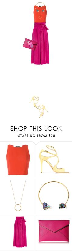 """""""Tricky Trend: Chic Culottes"""" by fashionbrownies ❤ liked on Polyvore featuring Alice + Olivia, Jimmy Choo, Michael Kors, Dara Ettinger, Apiece Apart, Rebecca Minkoff, TrickyTrend, polyvoreeditorial and culottes"""