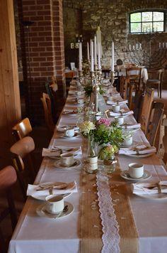 Hochzeitsdeko Rustikal, Tischdeko, Rustic Wedding Decoration