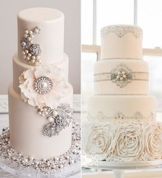 Your dress is glam, your heels are sparkly, and your reception rivals the Met Gala… so your cake should be nothing less than shimmery sweet heaven!