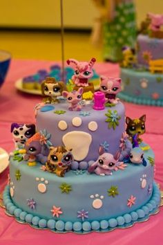 These ideas for a Littlest Pet Shop Party are so cute and fun! #LittlestPetShop #MC #Sponsored