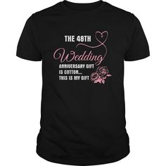 Get yours cool 48th Wedding Anniversary Shirt - Gift For My Lovers Shirt Shirts & Hoodies.  #gift, #idea, #photo, #image, #hoodie, #shirt, #christmas