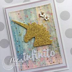 SWEET CARD CLUB: ✿ Acuarelas y Unicornios ✿ die Micaela Ferrero