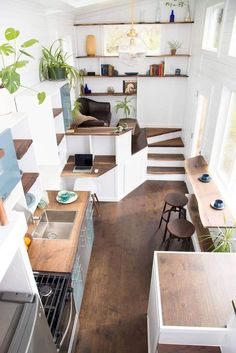 Tiny Apartment With An Ingenious Storage Solution Tiny Homes