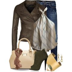179 Leather Jacket created by tammylo-12 on Polyvore.