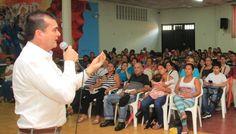 Crece apoyo femenino a Ramón gaviria