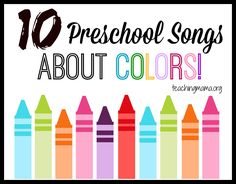 Preschoolers LOVE songs and I believe it is very important to bring music into the preschool classroom or home preschool. I have shared these 10 preschool transitions, but today I am getting more specific and sharing 10 Preschool Songs About Color. At the end of this post is a free printable for the PDF versions of these songs. …
