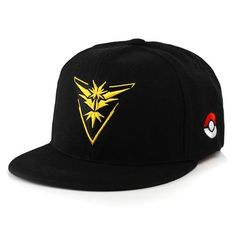 0f566bef507a1 Game Cosplay Mobile game Pokemon Go Team Valor Mystic Team Instinct  snapback Game Boy Advance Hip hop Adjustable Baseball caps