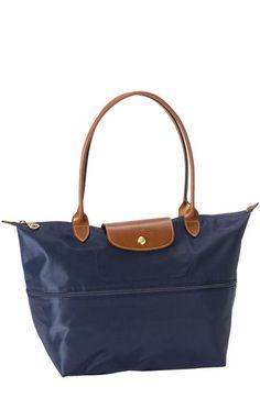 Longchamp Expandable Le Pliage Medium Shoulder Tote Available At Nordstrom Nylon