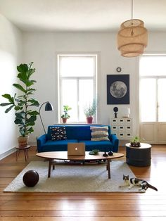 ● small break with a cup of mint tea #myhome #urbanjungle #vintage #midcentury #dielenboden #altbauwohnung #altbau