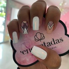 nail tips design Long Gold Glitter Nails, Cute Acrylic Nails, Cute Nails, Nail Manicure, Gel Nails, Geometric Nail, Nail Decorations, Simple Nails, Nail Arts